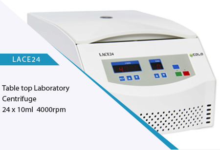 LACE24 table top laboratory centrifuge